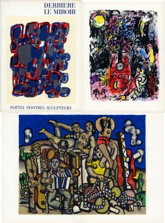 Libro Ilustrado Chagall - DERRIÈRE LE MIROIR N° 119. POÈTES, PEINTRES, SCULPTEURS; 1960) (CHAGALL - MIRO - BRAQUE - CHILLIDA - TAL-COAT, etc)