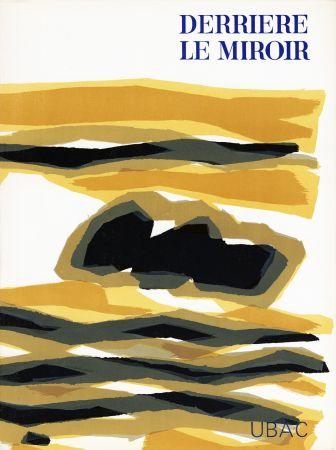 Libro Ilustrado Ubac - DERRIÈRE LE MIROIR n° 142 . GOUACHES ET ARDOISES TAILLÉES. Mars 1964. DE LUXE SIGNÉ