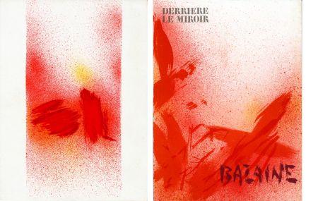 Libro Ilustrado Bazaine - DERRIÈRE LE MIROIR N° 215. BAZAINE. Octobre 1975 (7 lithographies originales).