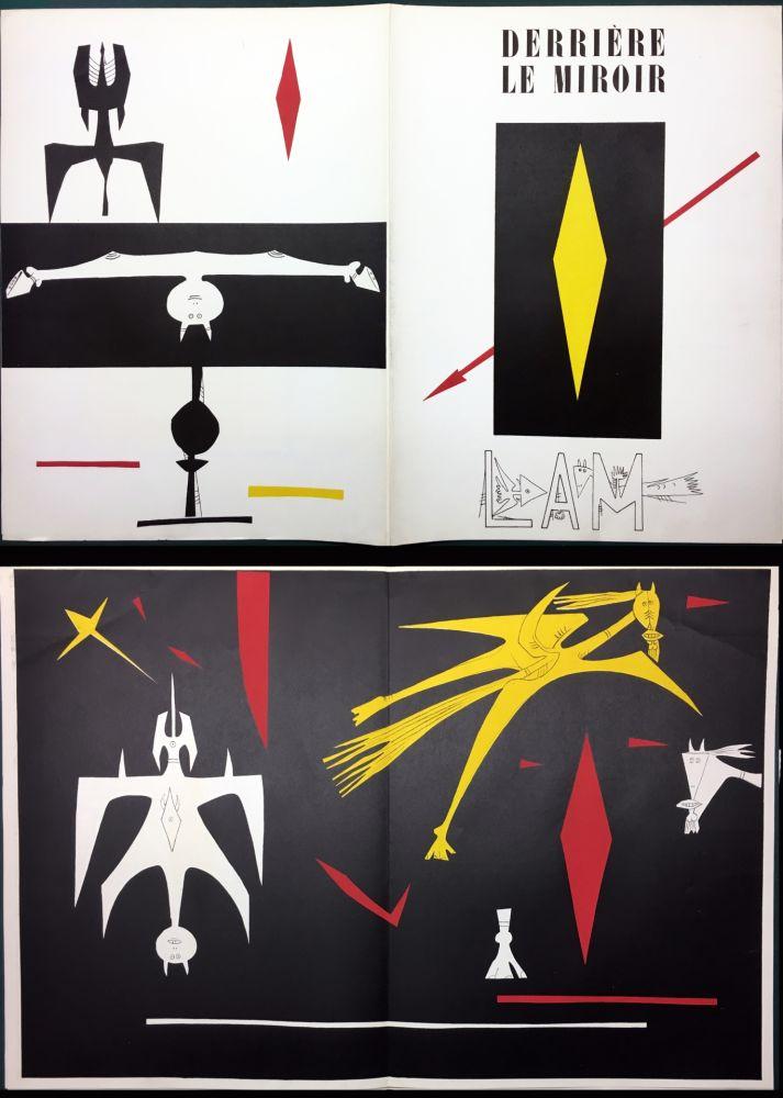 Libro Ilustrado Lam - DERRIÈRE LE MIROIR N° 52. Wifredo LAM. Janvier 1953.