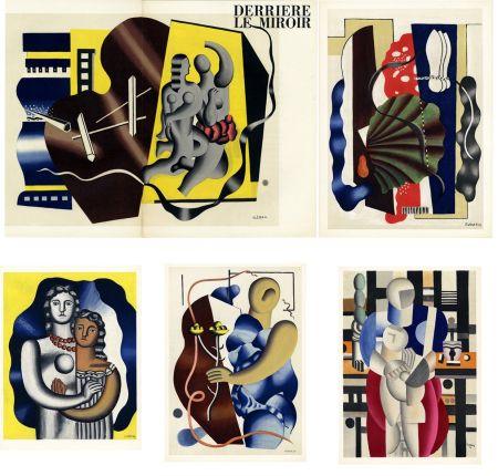Litografía Leger - DERRIÈRE LE MIROIR N° 79-80-81. FERNAND LÉGER. Octobre 1955