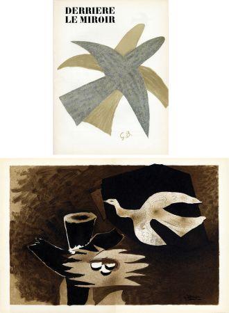 Libro Ilustrado Braque - DERRIÈRE LE MIROIR N° 85-86. BRAQUE. Avril-mai 1956.