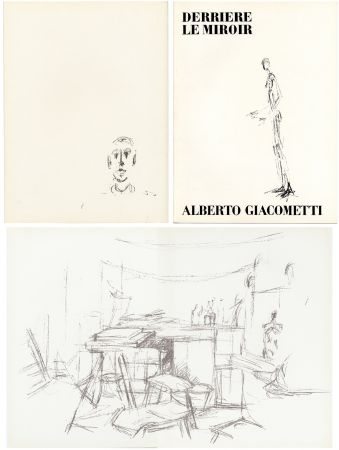 Libro Ilustrado Giacometti - DERRIÈRE LE MIROIR N° 98. L' ATELIER D' ALBERTO GIACOMETTI (Jean Genet). Juin 1957.