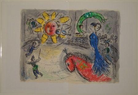 Libro Ilustrado Chagall - DERRIÈRE LE MIROIR, No 235.