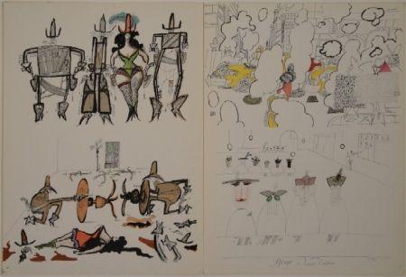 Libro Ilustrado Steinberg - DERRIÈRE LE MIROIR, Nos 53-54