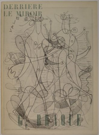 Libro Ilustrado Braque - DERRIÈRE LE MIROIR, Nos 71-72