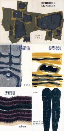 Libro Ilustrado Ubac - DERRIÈRE LE MIROIR. UBAC. Collection complète des 9 volumes de la revue consacrés à Raoul Ubac (de 1950 à 1982).