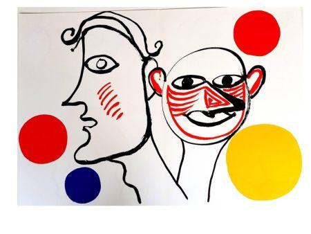 Litografía Calder - Derrière le Miroir