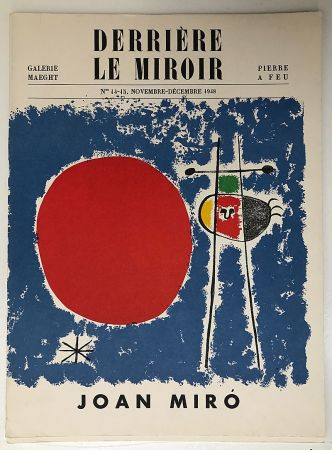 Libro Ilustrado Miró - Derrière le Miroir 14-15, Novembre 1948