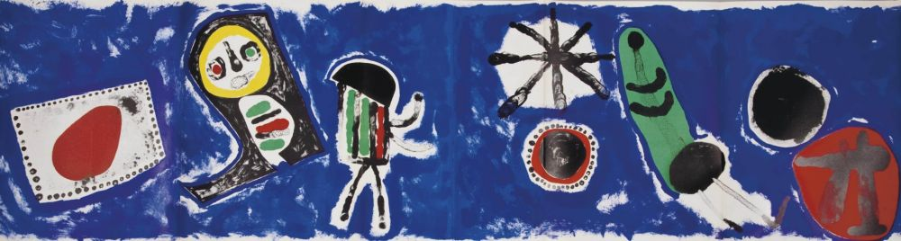 Litografía Miró - Derrière le Miroir 57 / 58 / 59.  Joan Miró