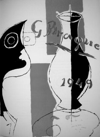 Litografía Braque - Derrière le Miroir n.135/136