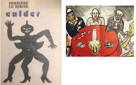Litografía Calder - Derrière le miroir N°212. Alexander CALDER.
