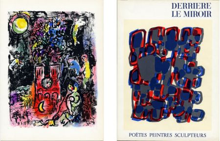 Libro Ilustrado Chagall - Derrière le Miroir n° 119. POÈTES, PEINTRES, SCULPTEURS; 1960) CHAGALL - MIRO - BRAQUE - CHILLIDA - TAL-COAT, etc