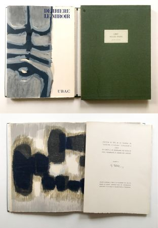 Libro Ilustrado Ubac - Derrière le Miroir n° 130. UBAC, PIERRES TAILLÉES (Nov. 1961). TIRAGE DE LUXE SIGNÉ.