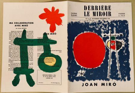 Libro Ilustrado Miró - Derrière Le Miroir N° 14-15