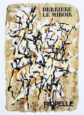 Libro Ilustrado Riopelle - Derrière le Miroir n° 160. RIOPELLE. juin 1966.