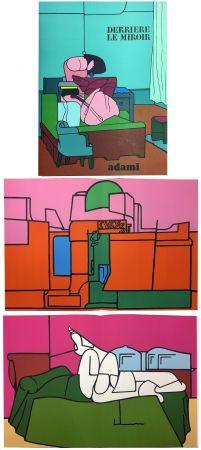 Libro Ilustrado Adami - Derrière le Miroir n° 188. ADAMI. Novembre 1970.