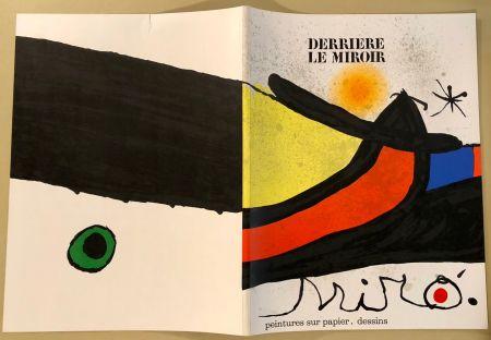Libro Ilustrado Miró - Derrière Le Miroir  N° 193- 194 Novembre 1971- Maeght Editeur