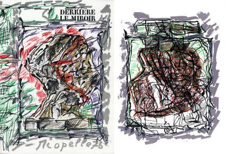 Libro Ilustrado Riopelle - Derrière le Miroir n° 218. RIOPELLE. Mars 1976.
