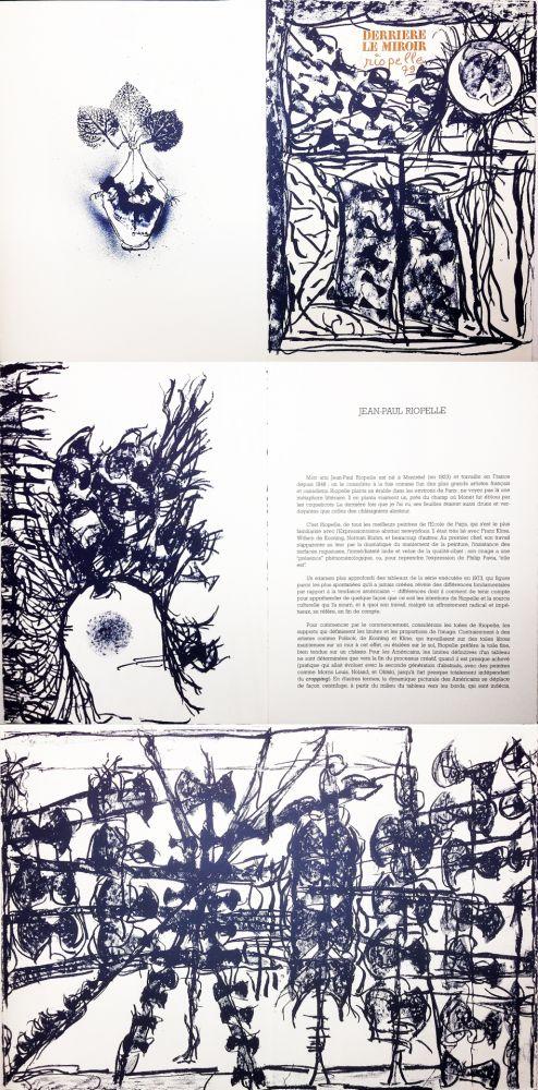 Libro Ilustrado Riopelle - Derrière le Miroir n° 232. RIOPELLE. Janvier 1979.