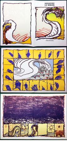Libro Ilustrado Alechinsky - Derrière le Miroir n° 247. ALECHINSKY. 6 ESTAMPES ORIGINALES. 1981