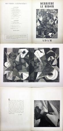 Libro Ilustrado Adam - Derrière le Miroir n° 24. ADAM - Décembre 1949. 1ere édition.