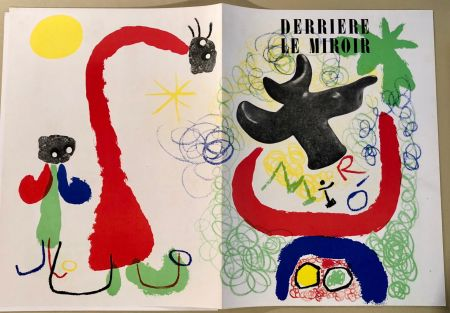 Libro Ilustrado Miró - Derrière Le Miroir  N° 29-30, Mai 1950 - Maeght Editeur