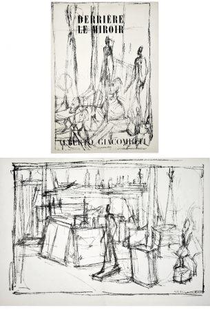 Libro Ilustrado Giacometti - Derrière le Miroir n° 39-40 . GIACOMETTI. Juin 1951.