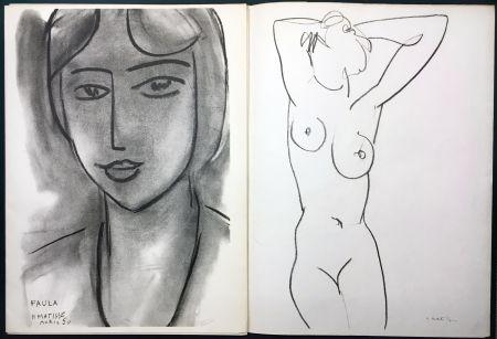 Libro Ilustrado Matisse - Derrière le Miroir n° 46-47. MATISSE. Mai 1952. 1ère Édition.