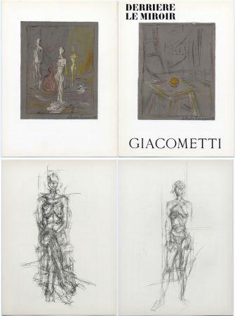 Libro Ilustrado Giacometti - Derrière le Miroir n° 65 . GIACOMETTI . Mai 1954.