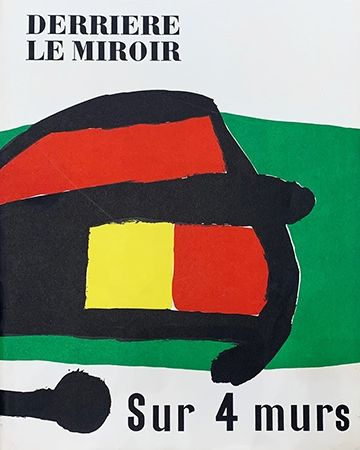 Libro Ilustrado Miró - Derrière le Miroir, No 107-108-109 : Sur 4 Murs