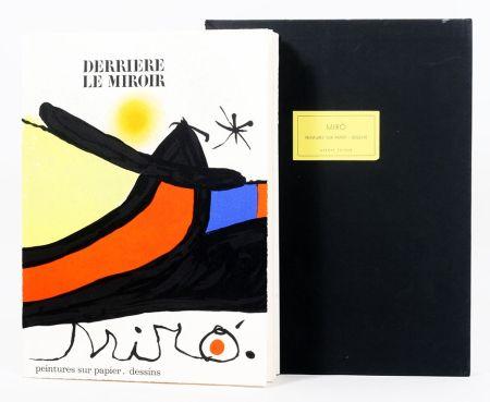 Libro Ilustrado Miró - Derriére le Miroir 193/194. Peintures Sur Papier, Dessins