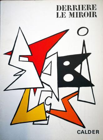 Libro Ilustrado Calder - Derriere le Miroir n. 141
