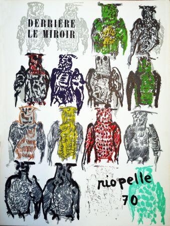 Libro Ilustrado Riopelle - Derriere le Miroir n. 185