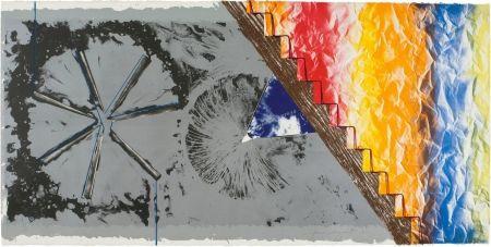 Litografía Rosenquist - DERRIERE L'ETOILE