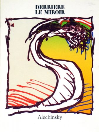 Litografía Alechinsky - Derrierre le Miroir