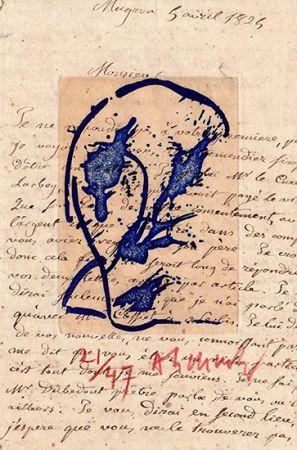 Grabado Alechinsky - Des deux mains
