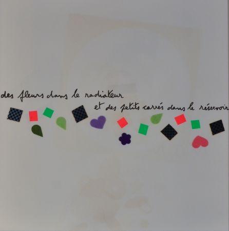 Litografía Baj - Des Fluers Dans Le Radiateur