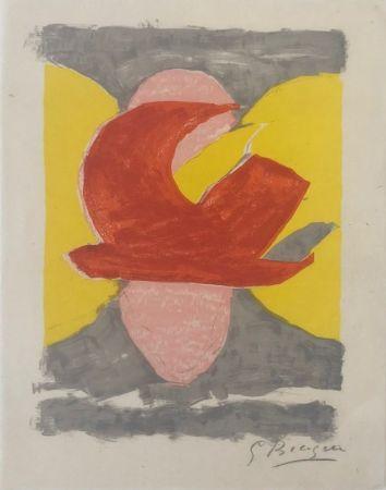 Litografía Braque - Descente aux enfers