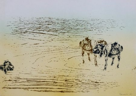 Litografía Cremonini - DESERT