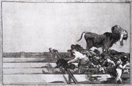 Aguafuerte Goya - Desgracias