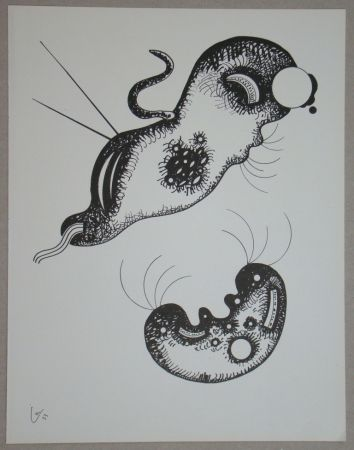 Litografía Kandinsky - Dessin à la plume, 1933
