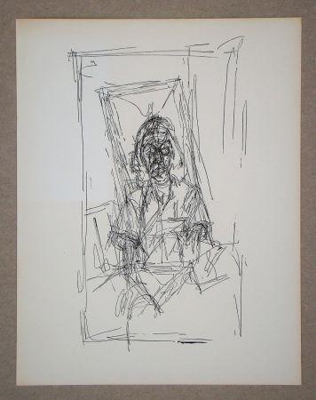Litografía Giacometti - Dessin, 1954