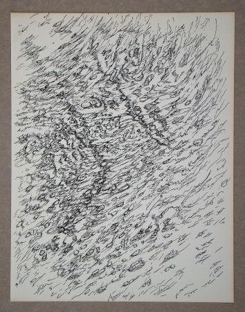 Litografía Michaux - Dessin, 1955