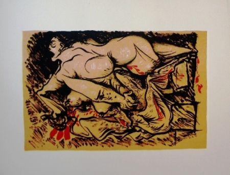 Litografía Masson - Dessins érotiques - 20 lithographies