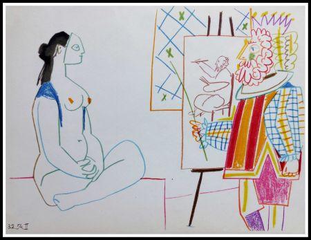 Litografía Picasso (After) - DESSINS DE VALLAURIS