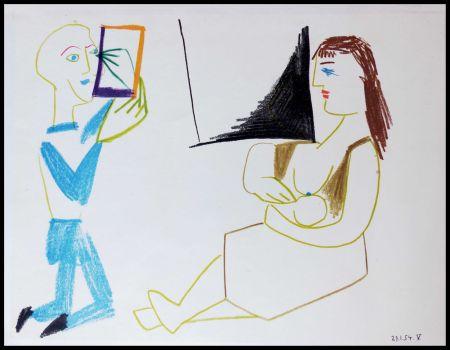 Litografía Picasso (After) - DESSINS DE VALLAURIS II