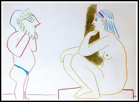 Litografía Picasso (After) - DESSINS DE VALLAURIS III