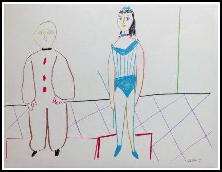 Litografía Picasso (After) - DESSINS DE VALLAURIS IX