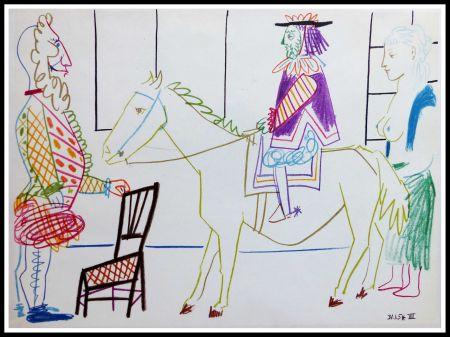Litografía Picasso (After) - DESSINS DE VALLAURIS V